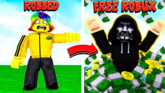 He BOTTED my GAME and got FREE ROBUX.. I can't