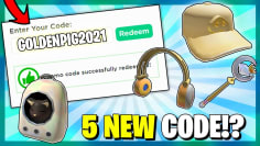 *5 CODES!?* ALL NEW PROMO CODES in ROBLOX!? (MAY 2021)