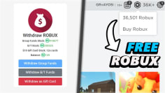 How to withdraw your free Robux