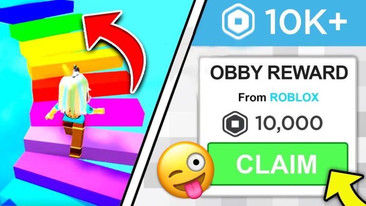 *NEW* ROBLOX OBBY GIVES YOU ROBUX? (2021)