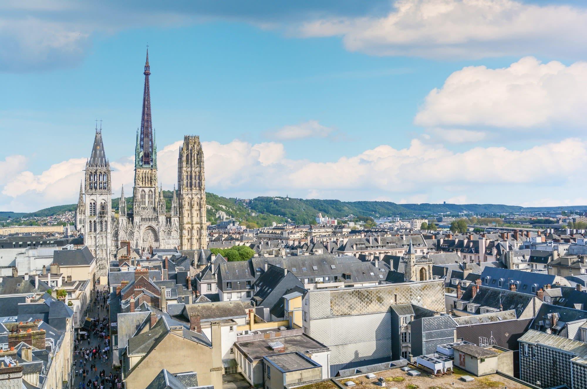Photo de la ville de ville/rouen