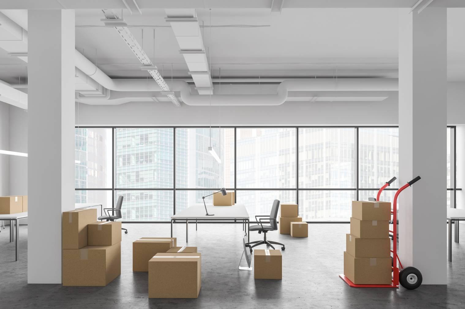 Quel est le coût d'un déménagement d'entreprise ?