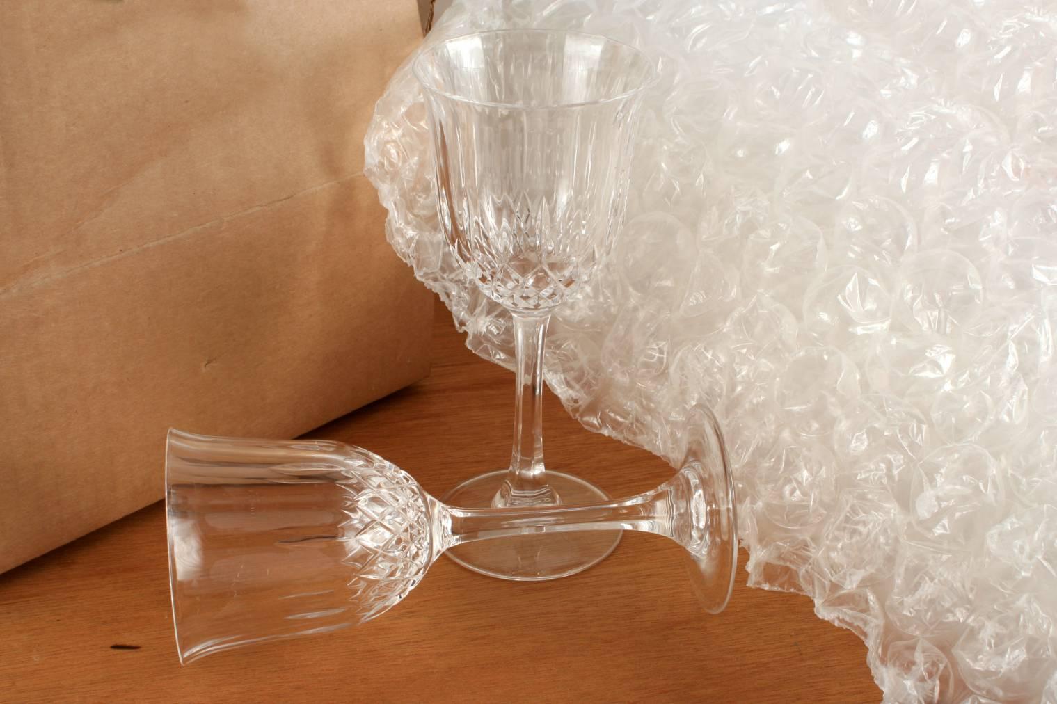 Comment emballer le verre en vue d'un déménagement ?
