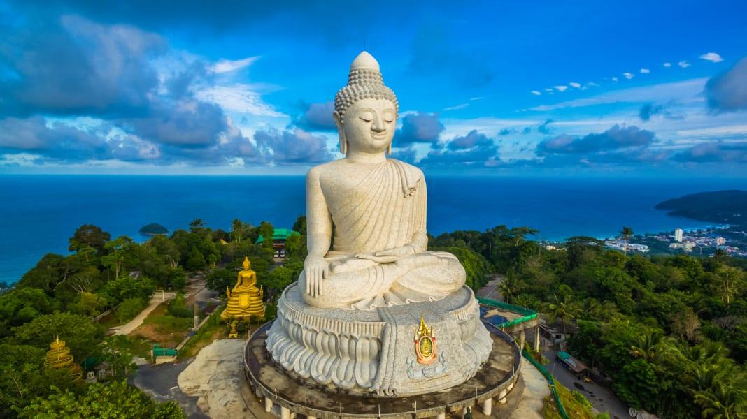 Phuket Big Buddha in Phuket Thailand