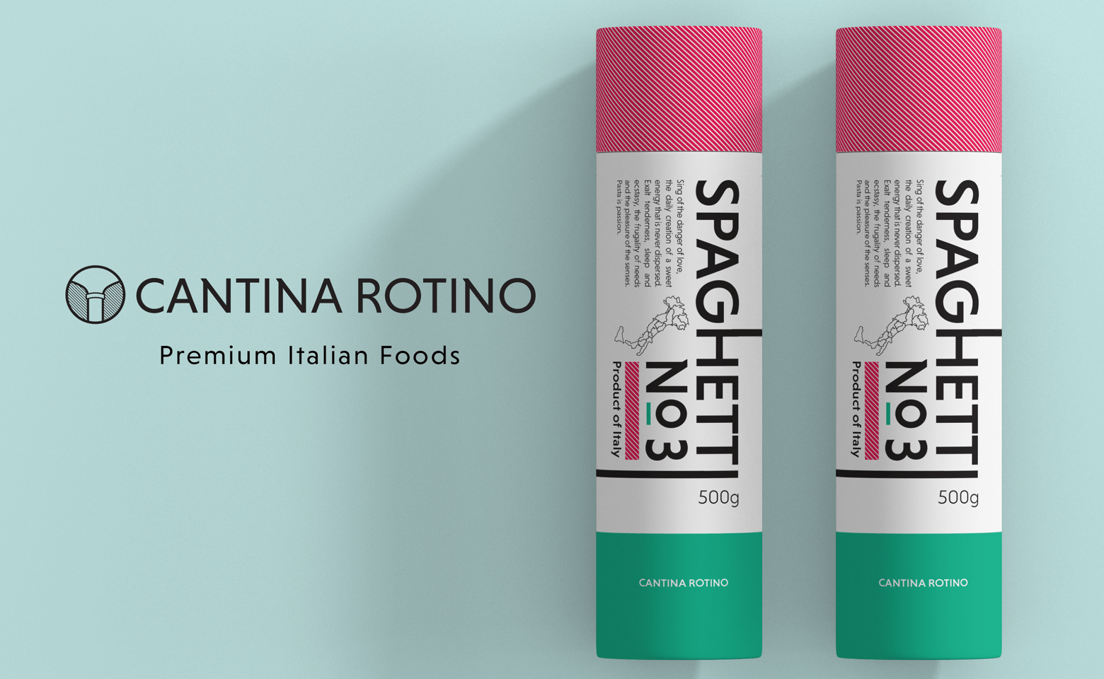 Cantina rotino packaging