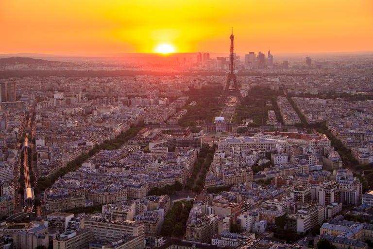Paris von Oben gesehen