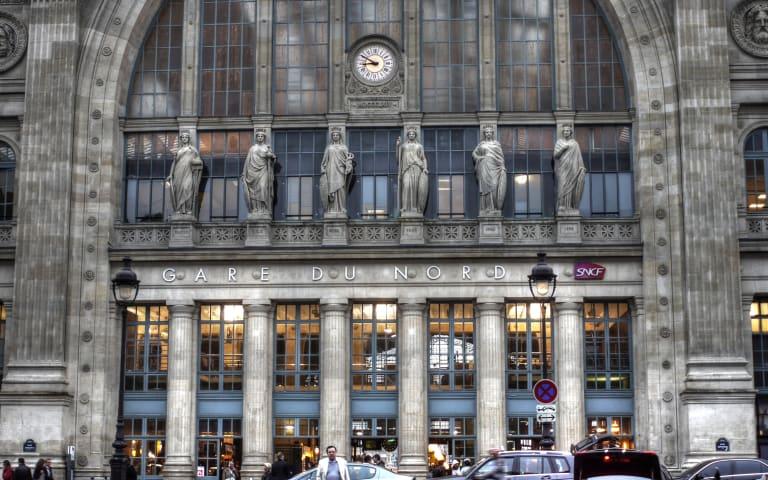 Fassade des Gare du Nord