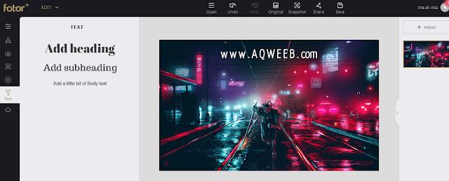 مثل فوتوشوب لكن اونلاين ! ... أفضل موقع للتعديل على الصور و صناعتها اونلاين