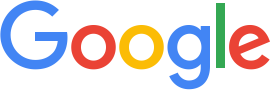 Scaled down version of Google's new logo