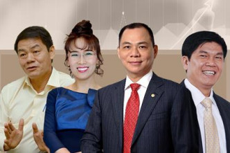 Number of VN Forbes billionaires doubles