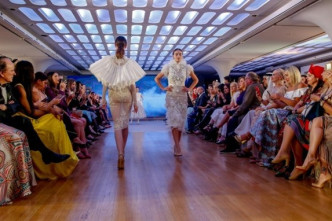 Arab Fashion Week eschews the abaya with resort-couture
