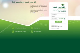 Viecombank to stop internet banking on old systems
