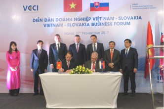 Slovakia offers its services as Vietnam's gateway to Europe