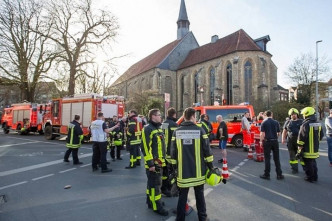Man drives into crowd in Germany, at least 2 dead