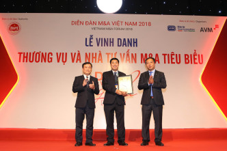 Vietnam M&A Forum 2018 award winners for 2017 2018 and the decade