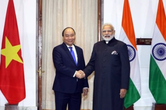 Vietnamese, Indian Prime Ministers hold talks