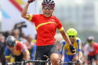Vietnam wins first gold at Asian cycling event