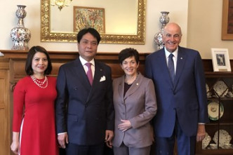 New Zealand Governor-General supports cooperation with VN