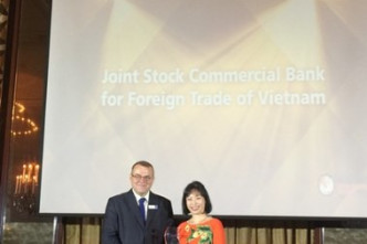 Vietcombank receives Mobile Banking Initiative of the Year award