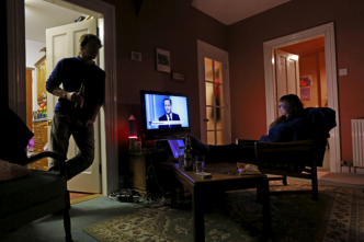 Americans world's biggest TV addicts watching four hours a day