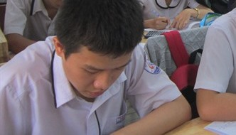 High school entrance exam not the end for kids