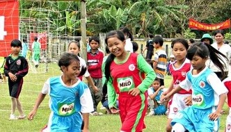 15 years of community football program in Thua Thien-Hue