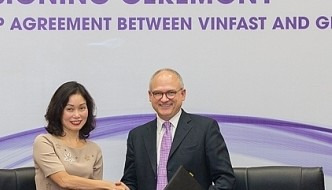 Vinfast and GM signs landmark strategic partnership agreement