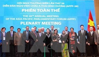 APPF-26 Hanoi Declaration sets new vision for Asia-Pacific parliamentary partnership