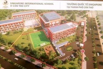 Building Singapore International School in Can Tho
