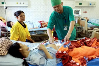 VN hospitals fall short of infection control targets