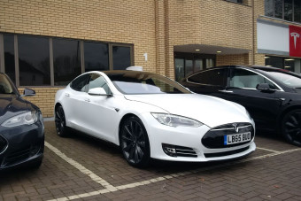 It's arrived! The start of our Tesla Model S long-term test review