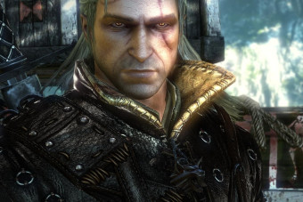 How does Xbox One X's 4K-enhanced Witcher 2 compare with PC?