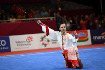 Lindswell Kwok Secures Indonesia's Second Gold Medal at 2018 Asian Games