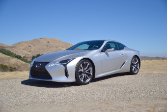 Grand Touring Across California in a 2018 Lexus LC 500