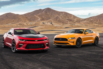 2018 Chevrolet Camaro SS 1LE vs. 2018 Ford Mustang GT Performance Pack