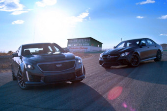 2018 Mercedes-AMG E63 S, 2017 Cadillac CTS-V Duke it Out on H2H