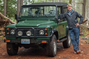 Celebrity Drive: Pete Nelson of Animal Planet's 'Treehouse Masters'