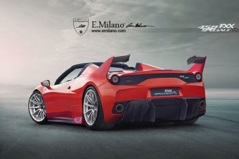 Ferrari 458 FXX Speciale A Launched in Rendering
