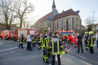 Man drives into crowd in Germany, at least two dead