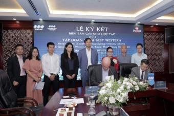 FLC Group and Best Western sign for first five star resort in Quang Binh