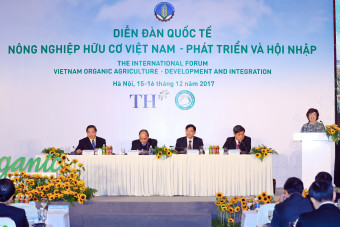 TH Group supporting Vietnam's organic agricultural development