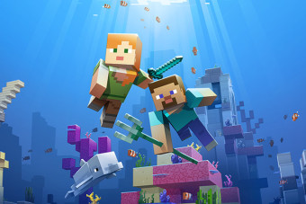 Phase two of the Minecraft Aquatic update has arrived – with turtles