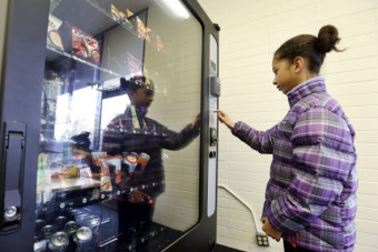 Indiana may no longer charge sales tax on food sold through vending machines
