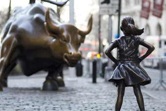 "CBS News Logo   Will NYC allow ""The Fearless Girl"" to remain on Wall Street?"