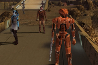 Attention, meatbags! Star Wars: Knights of the Old Republic is 15-years-old