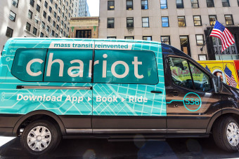 Can Ford fix New York City's transportation crisis with a crowdsourced shuttle bus?