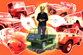 This Man Is The Four-Wheel Drive King Of The World And His Collection Will Blow Your Mind