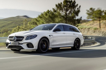 The 603 Horsepower 2018 Mercedes-AMG E63 S Wagon Is Coming To America
