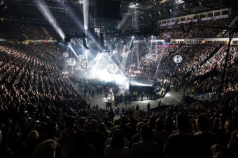 Manchester Arena seating plan, where to eat and parking