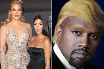 Kim Kardashian's sisters Khloe, Kourtney and Kylie unfollow Kanye West on Twitter as Rihanna, Drake, Katy Perry and Harry Styles also ditch rapper after he publicly supported Donald Trump
